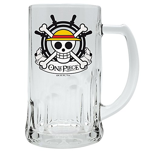 """ABYstyle ABYVER018 bicchiere da birra One Piece """"Scull - Rufy"""""""