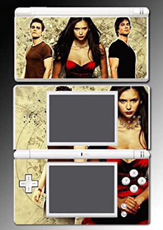 The Vampire Diaries Stefan Elena Twilight Vinyl Decal Cover Skin Protector for Nintendo DS Lite