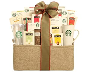 Wine Country Gift Baskets Starbucks Spectacular from Houdini, Inc. DBA Wine Country Gift Baskets