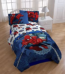 Marvel Spider Man Astonish Sheet Set, Full