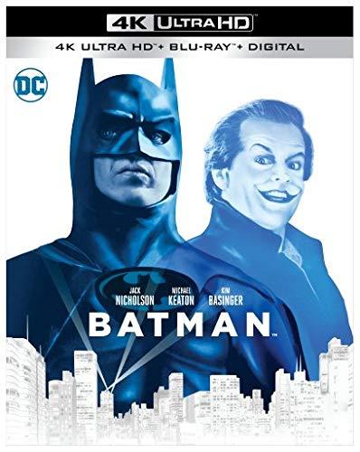 4K Blu-ray : Batman (1989) (2 Discos)