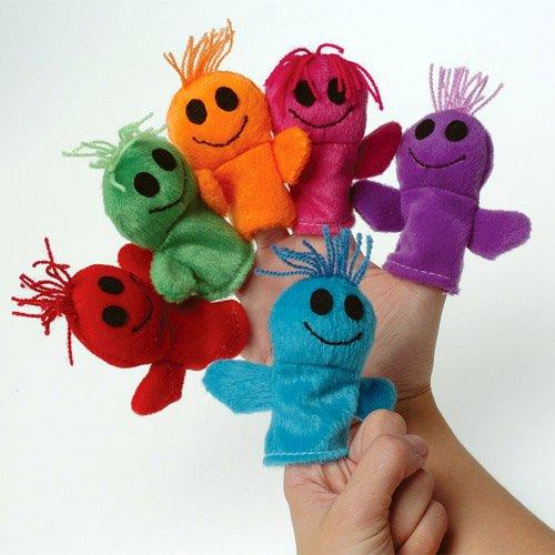 Smile Man Finger Puppets - 1