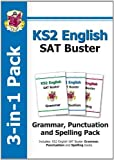 KS2 English SAT Buster 3-in-1 Practice Pack: Grammar - Punctuation - Spelling by CGP Books (2014) Paperback CGP Books