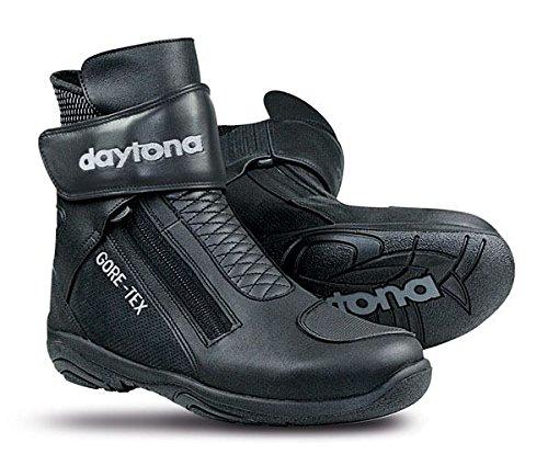 Botte de moto Blk pour le Sport Daytona flèche