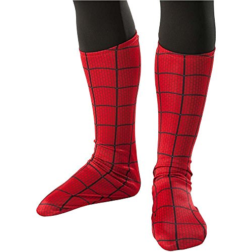 Amazing Spider-Man Kids Boot Tops - One Size