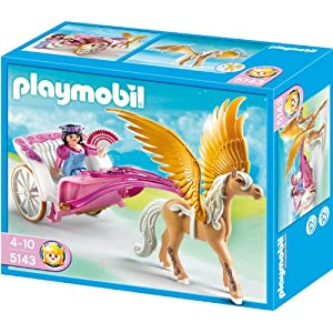 Playmobil 5143 pegasus kutsche burungakak for Kutsche playmobil