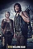 The Walking Dead Poster Carol & Daryl - Poster Großformat (61cm x 91,5cm) + 1 Überraschungsposter dazu!