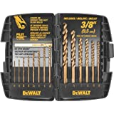 DEWALT DW1263 Cobalt Pilot Point Twist Drill Bit Set, 14-Piece