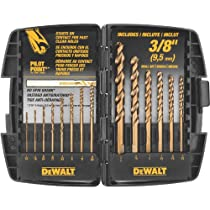 DEWALT DW5232 3//8-Inch by 18-Inch Drill Bit Premium Percussion