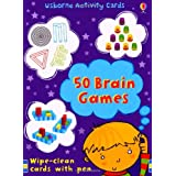 50 Brain Games (Usborne Activity Cards)by Sam Meredith
