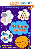 50 Brain Games (Usborne Activity Cards)