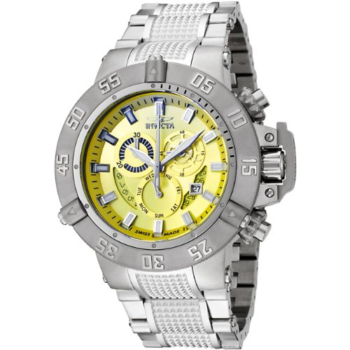 Invicta 6685NB Mens Subaqua Collection Noma III Chronograph Stainless Steel  Watch Set Best Buy dedb1c7f318