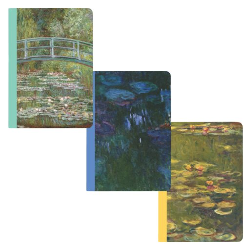 Boston International Metropolitan Museum of Art, Monet Pocket Journal Set (MPP1203) Picture