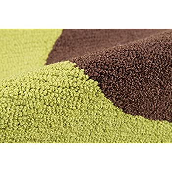 Novogratz by Momeni CUCINCNA-5GRN2030 Cucina Avocado Kitchen Mat, 2 x 3, Green