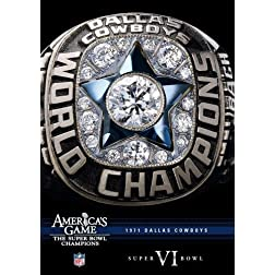 NFL America's Game: 1971 COWBOYS (Super Bowl VI)