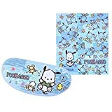 Authentic Sanrio Pochacco Cleaning Cloth + Large Hard Protector Case Box Set for Eyeglasses Sunglasses