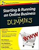 Starting and Running an Online Business For Dummies by Kim Gilmour 2nd (second) UK Edition (2011) Kim Gilmour