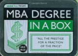 img - for MBA Degree in a Box (School in a Box) book / textbook / text book