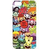 【iPhone5/5S対応】ハッピーツリーフレンズ キャラクターカバー オールスター HTPC32