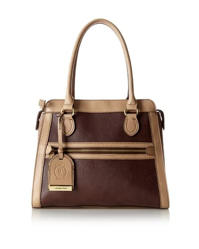 London Fog Women's Fielding Shopper, Fawn/Brown, One Size As You See