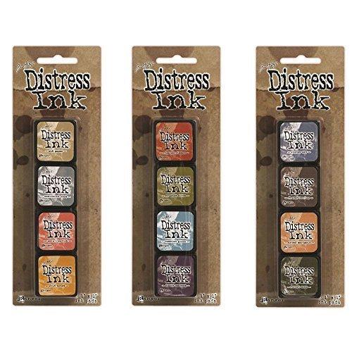 Ranger Tim Holtz Distress Mini Ink Pad Bundle: Kits 7, 8 and 9
