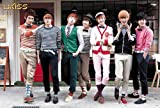 J-4499 U-kiss (Band)- Soohyun, Eli, Hoon, Aj, Kevin, Dongho, Kiseop South Korea Boy Band Collections, Decorative Poster Print Vintage New Size: 35 X 24 Inch.#3