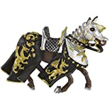 Safari Ltd Horse with Black & Gold Robe
