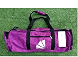 1Pc Yoga Mat Bag Multifunctional Mat Packet for Sport Yoga Bag Pilate Backpack Gym Bag Carrier (Purple)
