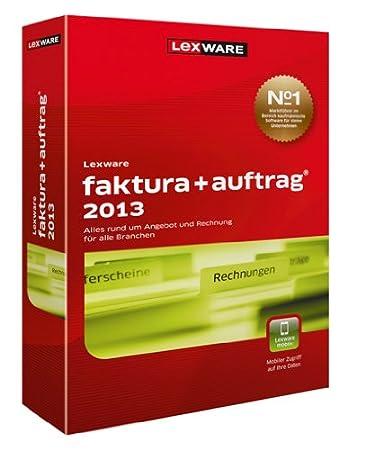 Lexware Faktura+Auftrag 2013 Update (Version 17.00)