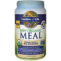 Garden of Life Organic Raw Plant Based Vanilla, Vegan, Gluten-Free Protein Powder (34.2 oz)