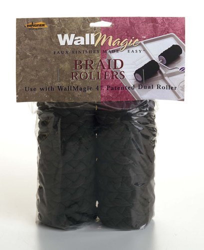 Buy Wagner WallMagic 4-Inch Braid Dual Roller Covers #0510174