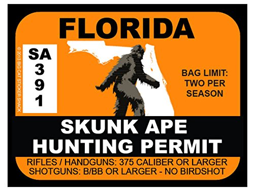 Bigfoot Hunting Permit Bigfoot Gifts Amp Toys