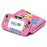 Princess Friends Stars Ariel Jasmine Cinderalla Belle Decorative Decal Cover Skin for Nintendo Wii U Console and GamePad