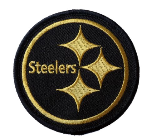 PITTSBURGH STEELERS NFL EMBROIDERED PATCH 3 inches at Amazon.com