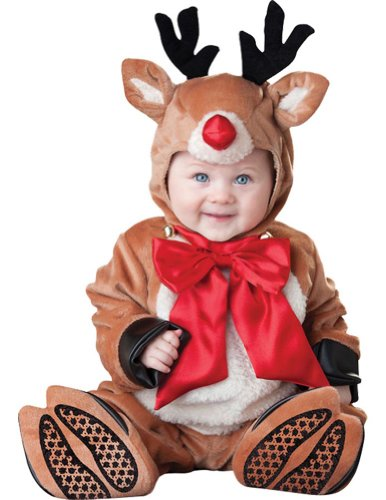Baby-toddler-costume Reindeer Rascal Christmas Toddler Costume 12-18 Months