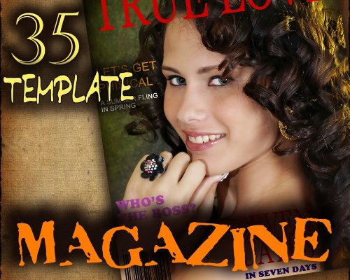 M2 Magazine Covers Digital Background Holiday Christmas Halloween Easter Photo