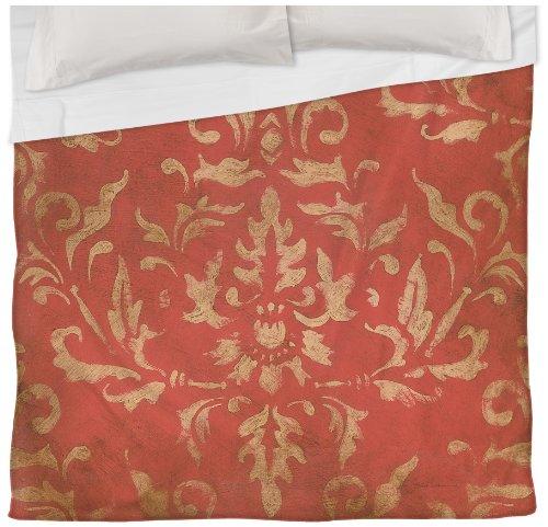Thumbprintz Duvet Cover, Twin, Golden Baroque front-480147