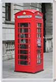 Red British UK Telephone Box - Jumbo Fridge Magnet Gift