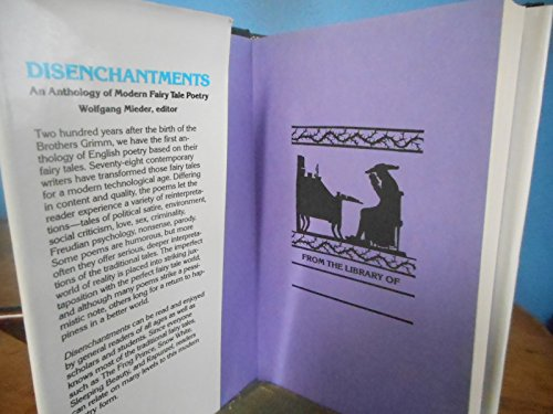 Disenchantments: Anthology of Modern Fairy Tale Poetry