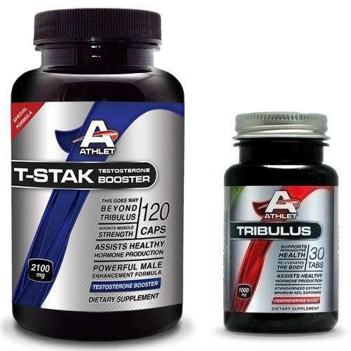 Athlet, T-STAK 120 Caps - HORMONAL BALANCE + Free