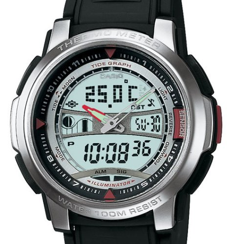 Casio Men's Forester Sports Thermometer Watch #AQF100W-7BV
