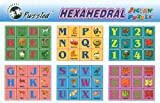 ABC and Numbers Blocks, Hexahedral Cubes by Puzzled