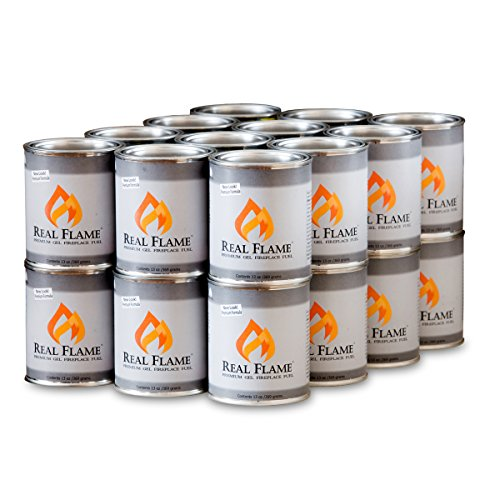 Real Flame Gel Fuel - 13 oz cans; 24-Pack (Real Flame Fireplace compare prices)