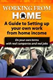 Working From Home: A Guide To Setting Up Your Own Work From Home Income: On your own terms with real companies and real jobs