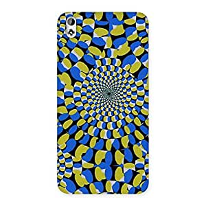Delighted Classic Illusion Back Case Cover for HTC Desire 816s