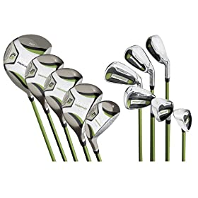 Wilson Pro Staff Ladys Right Hand Petite set (1- Inch shorter than regular Women's set)