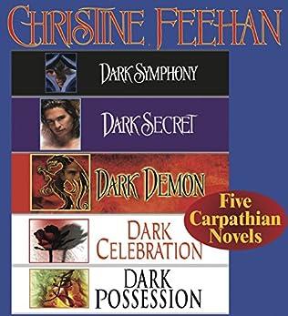 book cover of Christine Feehan Five Carpathian Novels