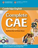 img - for Complete CAE Student's Book without answers with CD-ROM book / textbook / text book