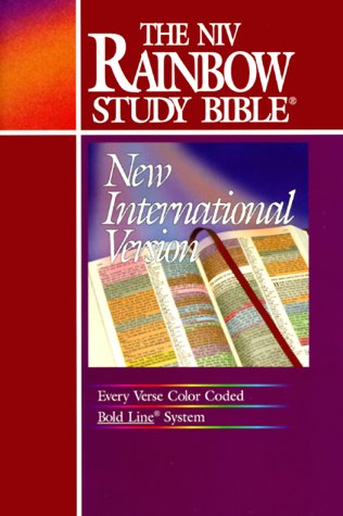 The NIV Rainbow Study Bible (New International Version) (Color Coded Bible compare prices)