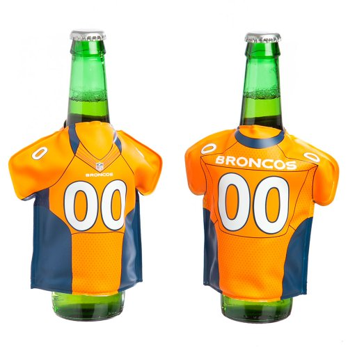 For Sale! Denver Broncos Bottle Freezer Jersey